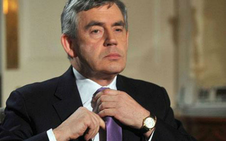 Gordon Brown: